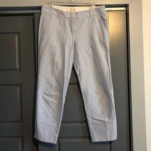 J.Crew linen cropped pant